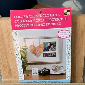 Color and Create Projects - Blossoms Coloring Book